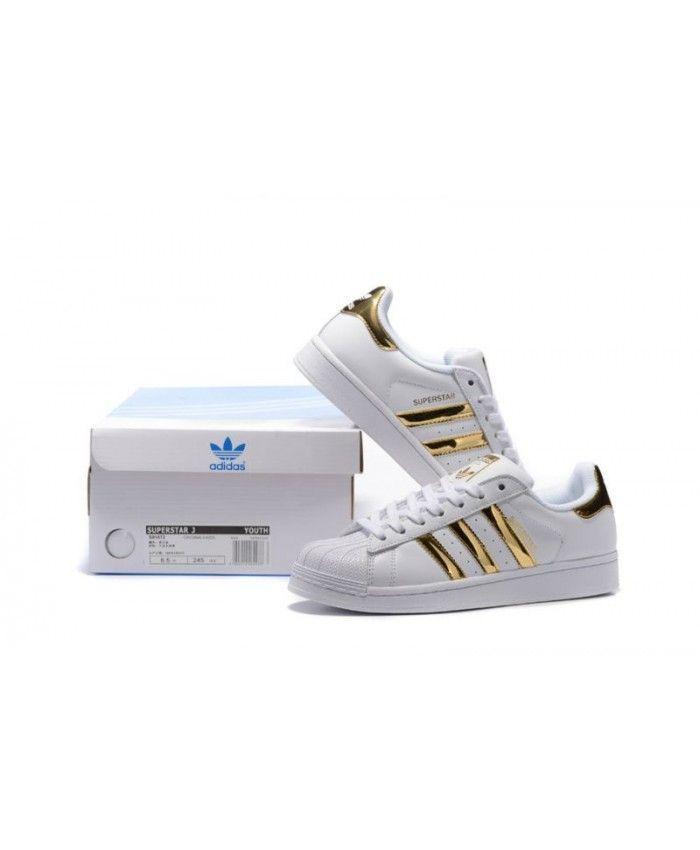 adidas superstar rose gold junior
