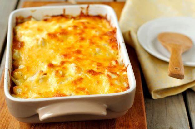 CREAMY CHEESY POTATO CASSEROLE #CASSEROLE #cheese #potatoes
