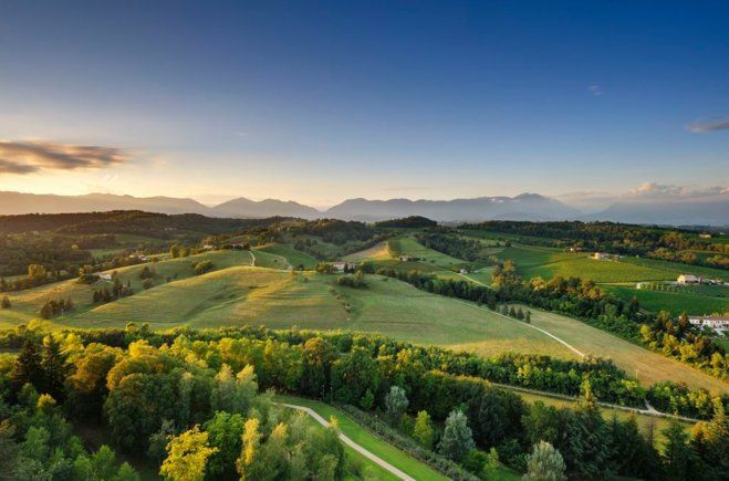 В итальянском районе Тревизо делают знаменитое просекко. Посетив несколько виноделен, можно начать в нем разбираться, познакомиться с традициями итальянских семей и местной кухней