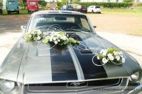our car wedding decoration
