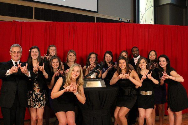 Out on the town with Jim Tressel for ATO's Casino Night! #ΑΞΔ #OSU
