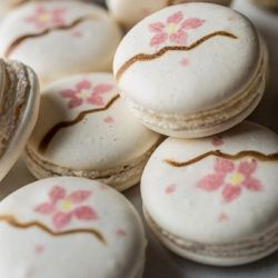 This cherry macaron recipe from Graham Hornigold makes exquisite petit four that are as delightful to look at as they are delicious.