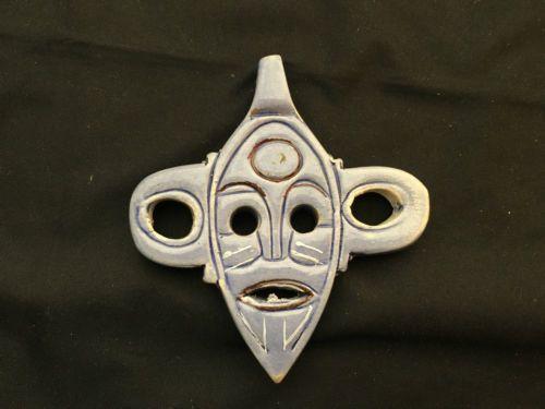 Ceramic-Blue-Mask-Pendant-Decor
