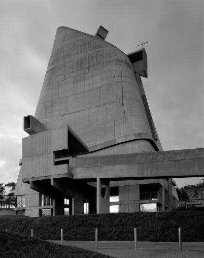 Le Corbusier, Eglise Saint-Pierre, Firminy, France, 2007  Photographed 2007
