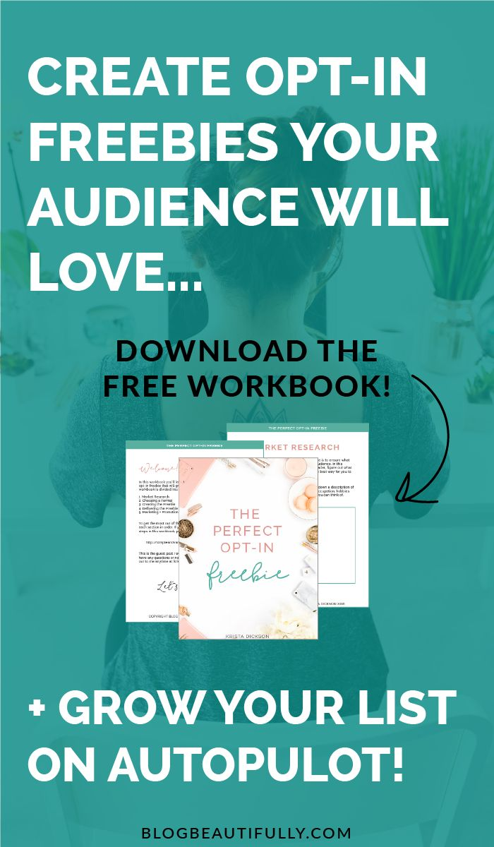 Struggling to create the PERFECT opt-in freebie that your audience will fall in love with?! This workbook is the answer! A 5 step system and 12 pages of perfect-freebie-creating goodness. All yours, totally free for mega babes like you! Click through to download it!! via Blog Beautifully