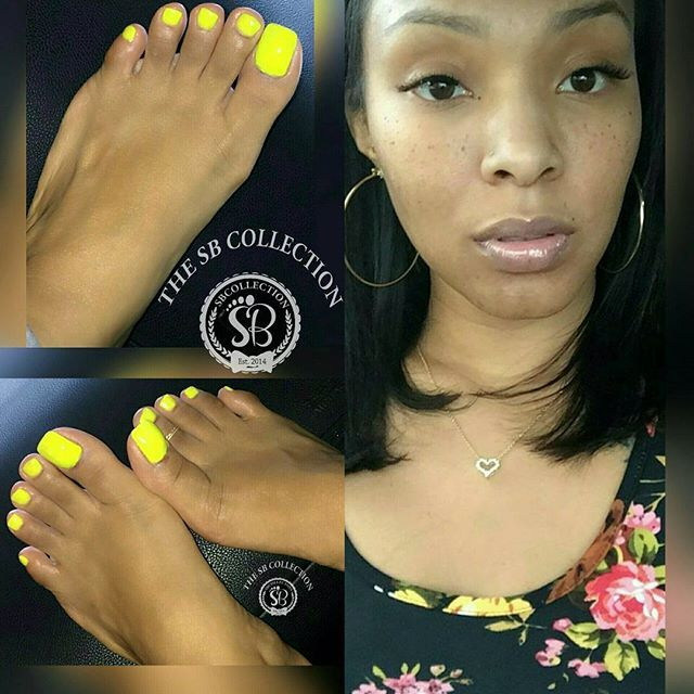 beautiful ebony feet