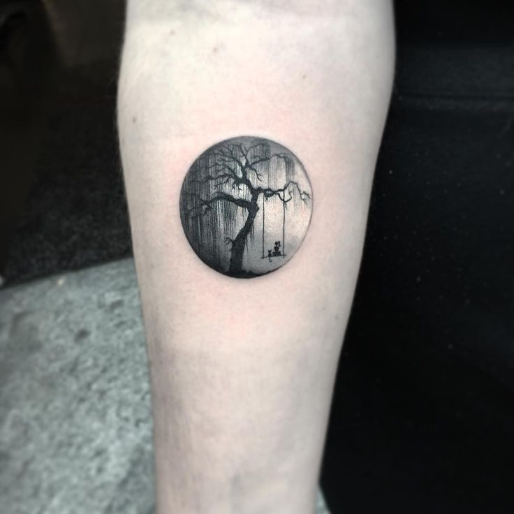 Round Tattoos Tell Fantastic Stories More