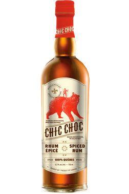 Pour l'amateur de #rhum et de produits locaux: le Chic Choc (34$). #cadeau #Noël #OrigineQuébec