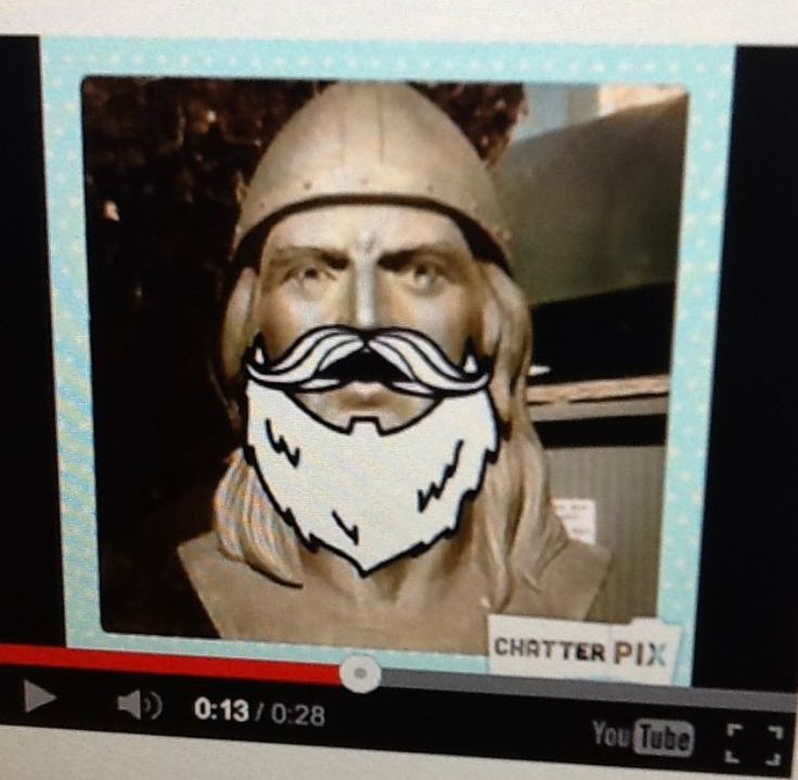 Use the ChatterPIX app to bring Viking history alive for your students.