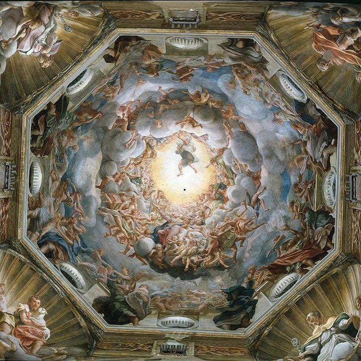 3. Correggio Assumption of the Virgin ca. 1526-1528 Parma Cattedrale di Santa Maria Assunta #correggio #essay #parma (inspired by J. Shearman 1980)