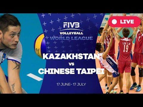 NBase.info – Kazakhstan v Chinese Taipei – Group 3: 2016 FIVB Volleyball World League
