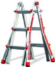 If you're like me, you want to buy a big extendable ladder, but you don't have a massive truck to carry it home from the store. This uniquely designed extendable ladder uses telescoping technology tha...