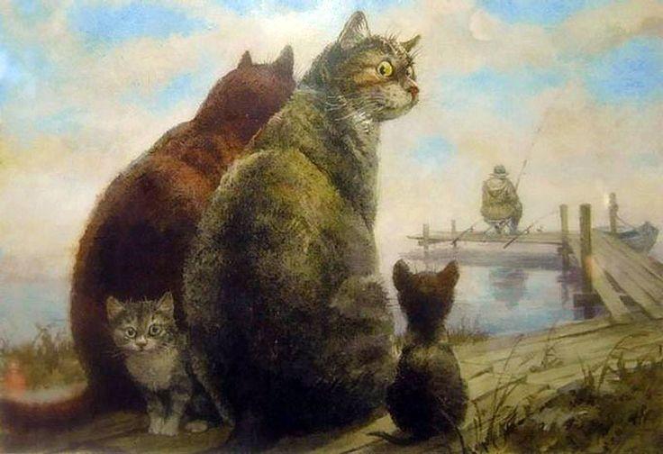 Владимир Румянцев- Питерские коты