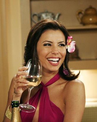 Gabrielle Solis: The way I see it is that good friends support each other after something bad has happened, great friends act as if nothing has happened