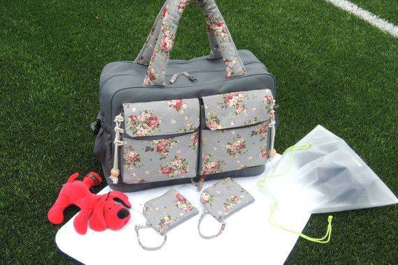 Diaper bag great for twins or two little kids by TheYellowPacifier, $75.00