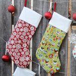 Vianočné pančuchy (teda Sew Easy)