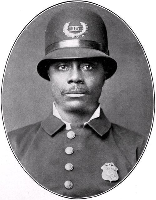 First African American Police Officer of Dayton | Police History Exhibit - 2008