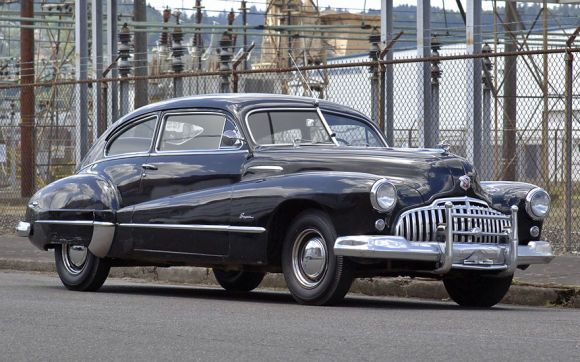58k-Mile 1946 Buick Super Sedanet // Oh, my!
