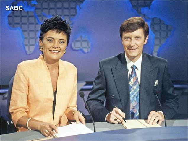 Mariette Kruger & Riaan Cruywagen, two of the best news anchors SABC has had