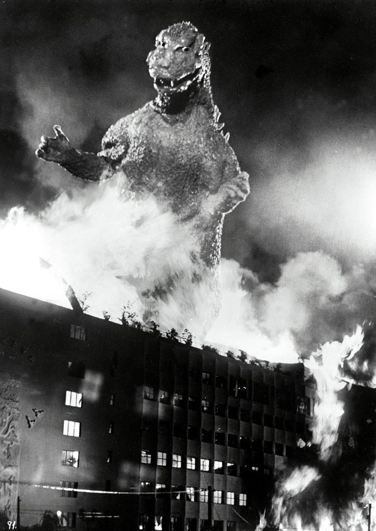 "November 3, 1954 The Movie, ""Godzilla"" is released."