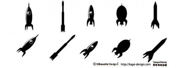 rockets 2 Free Vector