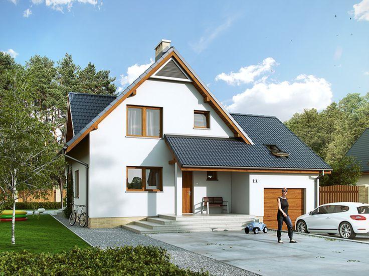 DOM.PL™ - Projekt domu MT Sopran 4 CE - DOM ST5-90 - gotowy projekt domu