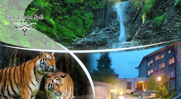 Nádherný pobyt v Slovenskom raji v pohodlí Grand Hotela Spiš*** na 3 až 7 dní s raňajkami alebo polpenziou
