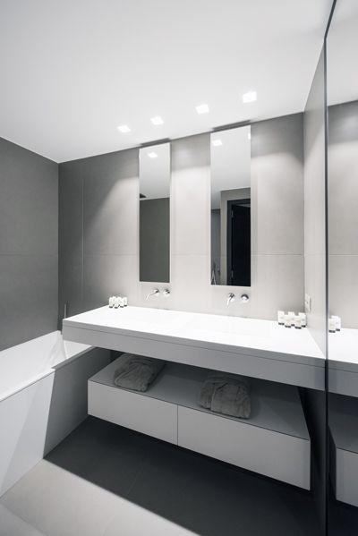 Mobilier résidentiel Solid Surface - Aménagement Caluire - V-korr