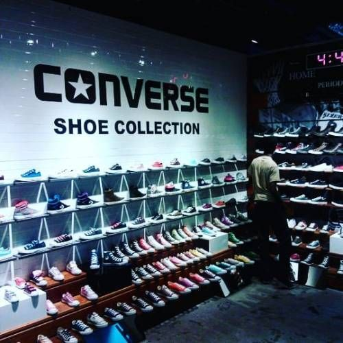 Shopping for essential wear in the Converse Store.  #Converse #TrinidadandTobago #GulfCityMall #Threads #footwear #interiors #interiordesign #malls (at Gulf City Mall)  #Interiors #Architecture