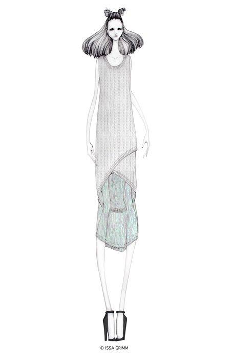 ISSA GRIMM: fashion illustrations #fashionillustrations #fashiondesign