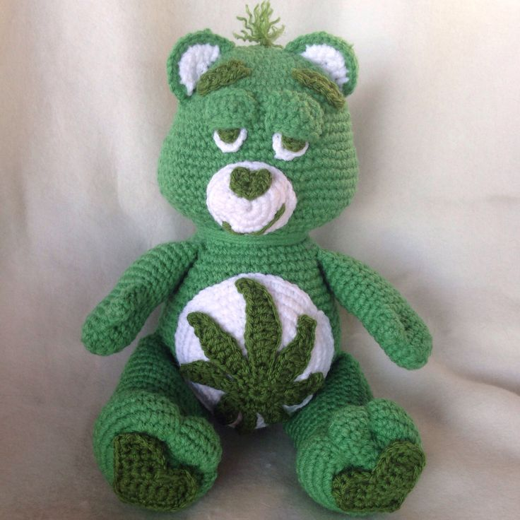 A personal favorite from my Etsy shop https://www.etsy.com/ca/listing/458503530/cannabis-420-bear