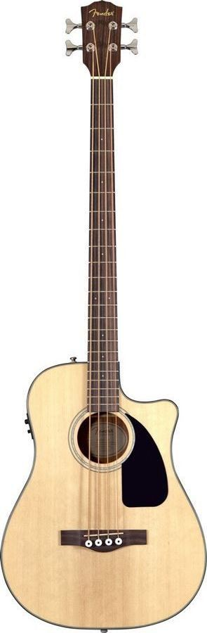 Fender CB-100CE Acoustic Bass Guitar | Natural Finish
