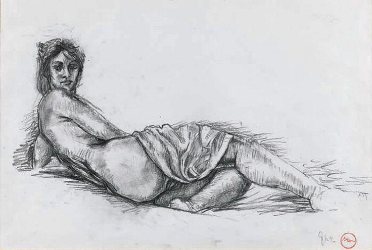 Ξαπλωμένη γυναίκα