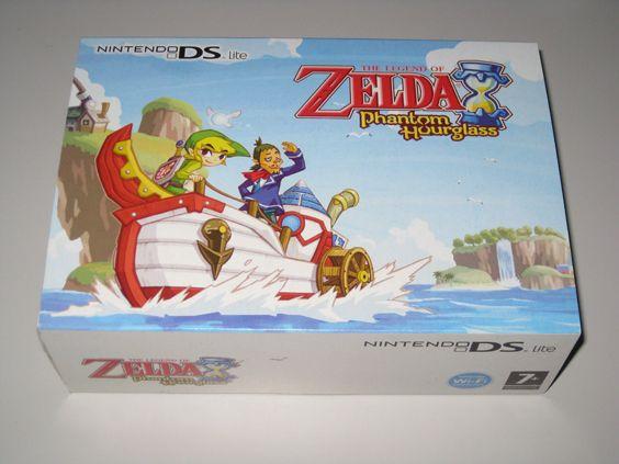 Edição de Colecionador - Todas as edições de Zelda - Collector's Edition Limited Design - ds lite