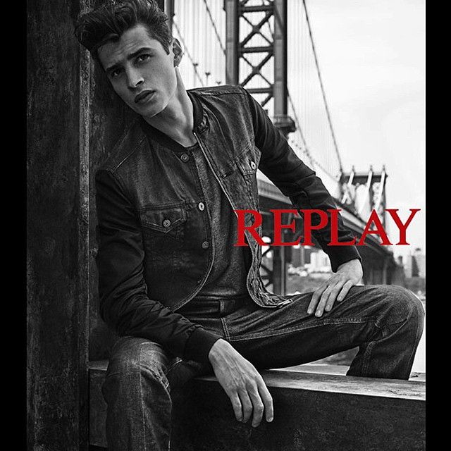 First Look: Adrien Sahores for Replay Fall/Winter 2015 Campaign