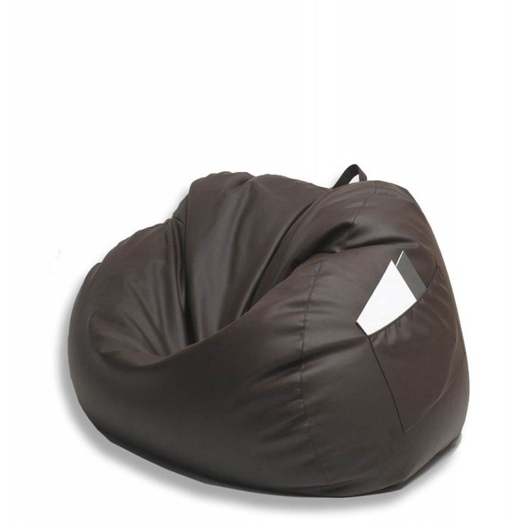 Compressi Spuma beanbag style armchair is perfect for your reading corner. With a convenient storage pocket on the side, it completes the room. Compressi Spuma chair expands in just minutes.