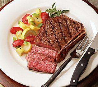 Kansas City Steak Company (4) 16-oz Bone-in Strip Steaks