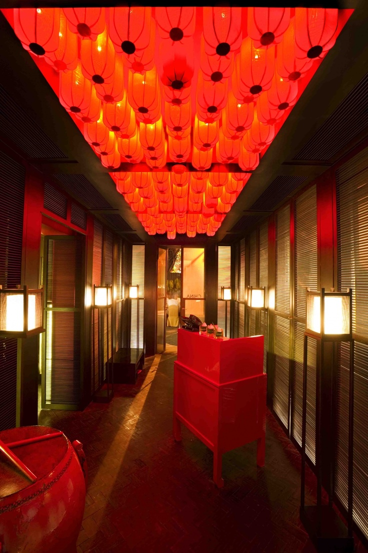 El caliente bar by sweet co tokyo 187 retail design blog - China House Restaurant At The Mandarin Oriental Nhdro