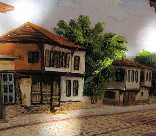 #Ankara #evleri #turkiye #galeri #sergi #art work #sanat #tuvaldeki Türkiye #painting #yağlıboya by ressamhuseyinsartas