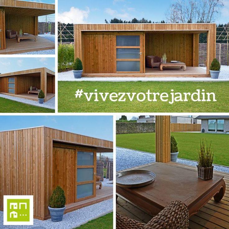 11 best abri de jardin design images on pinterest contemporary design sheds and clean lines. Black Bedroom Furniture Sets. Home Design Ideas