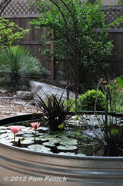 180 best barrels galvanized rainbarrels gutters images on for Garden pond plumbing design