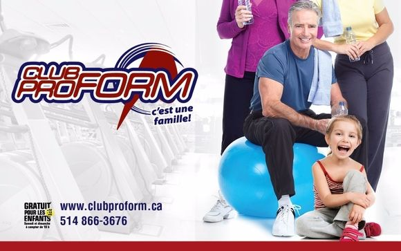 Check out Club Proform's Services