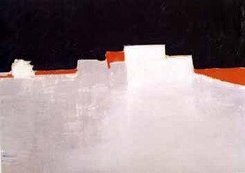 Nicolas de Stael,  Agrigente, 1953 Huile sur toile, 73 x 100 cm