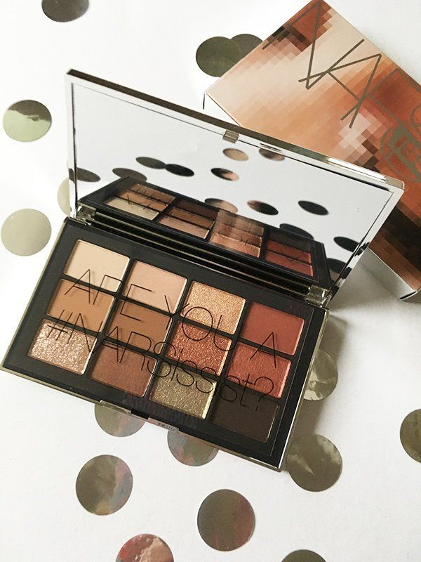 NARSissist Wanted Eyeshadow Palette, open (Review on Hey Pretty)