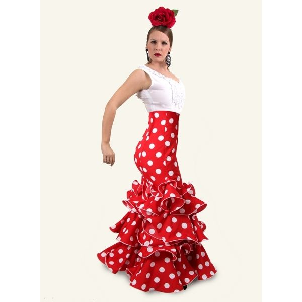 Faldas Flamencas Azucena C/ Alta