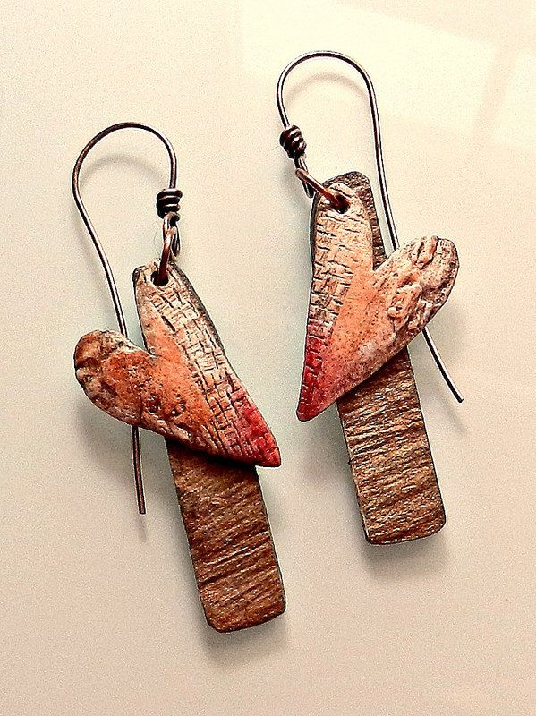 Valentine earrings 2015 - Polymer clay | by Stories They Tell