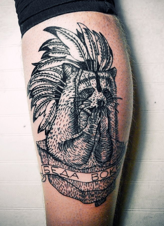 Raccoon tattoo | Tattoos | Pinterest | Spirit animal ...