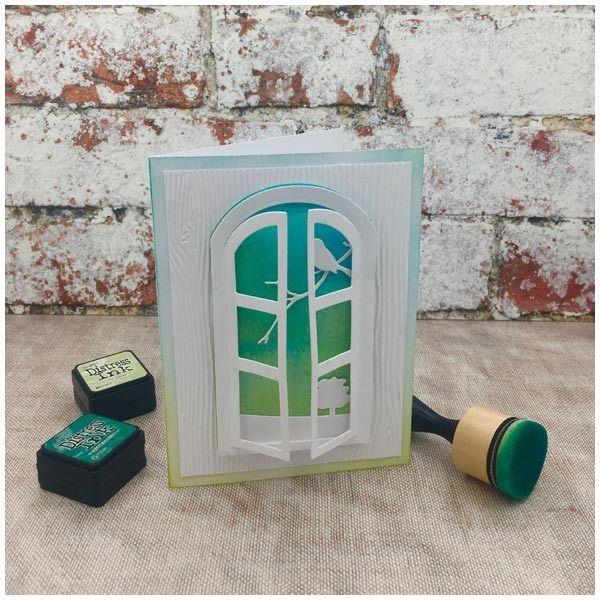 Paper Discovery Tag Window Pocket Builder Die Set Bundle Cards