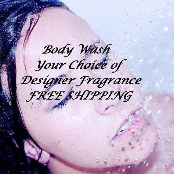 Organic Body Wash Natural Shower Gel Women's Body Wash