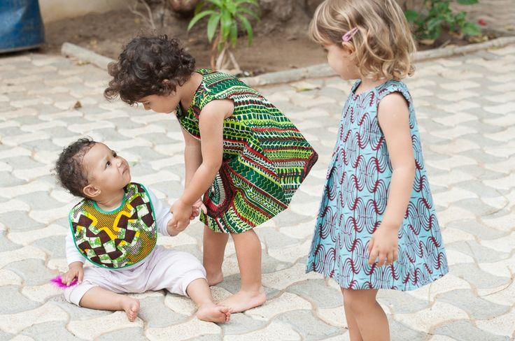 Les bavoirs pour bébés de Binta.